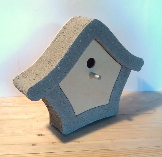 beton vogelhaus gro design beton. Black Bedroom Furniture Sets. Home Design Ideas